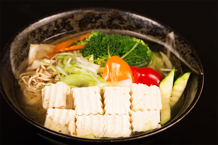 Tofu-Vegetable-Ramen